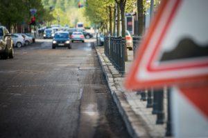 Laikinai uždaroma Maironio gatvės atkarpa