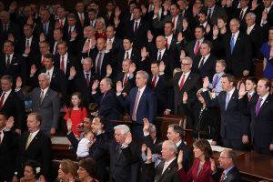 Naujos sudėties JAV Kongresas susirinko į pirmą posėdį