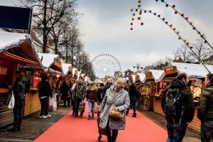 Briuselio kalėdinė mugė terorizmo grėsmės šešėlyje