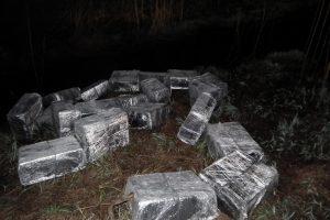 VSAT pareigūnai sužlugdė kontrabandininkų kėslus atsigabenti pigesnių rūkalų