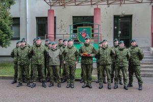 Lietuvos karininkai tris mėnesius mokys Ukrainos karius