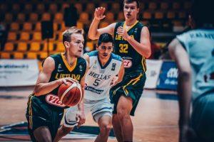 Lietuvos 18-mečiai Europos čempionate sutriuškino Graikiją