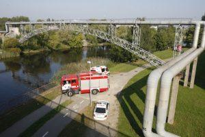 Klaipėdoje nuo tilto į upę nušokusio vyro atgaivinti nepavyko