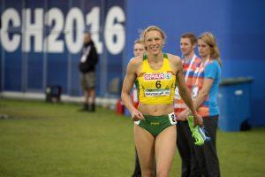 Olimpinę bronzą atgausianti A. Skujytė: visą laiką ruseno viltis
