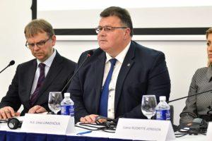 Diskusijoje apie žurnalistų saugumą – žurnalistės ir L. Linkevičiaus ginčas