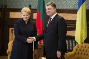 Prezidentė vyks darbo vizito į Ukrainą