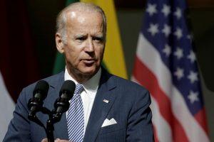 J. Bidenas planuoja trečią kartą varžytis JAV prezidento rinkimuose