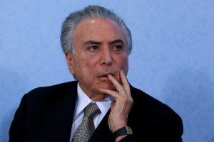 Brazilijos naujuoju prezidentu prisaikdintas M. Temeras