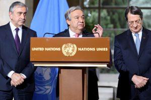 A. Guterresas: Kipro susitarimas nebetoli, bet nesitikėkite stebuklo