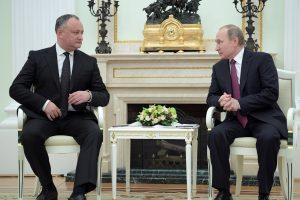 Moldovos prezidentas pasirengęs pasirašyti su NATO susitarimą dėl šalies neutraliteto