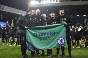 """""""Chelsea"""" futbolininkai – """"Premier"""" lygos čempionai"""