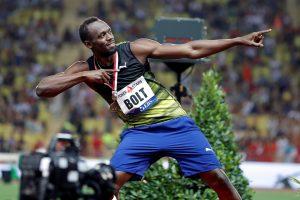 U. Boltas įgauna pagreitį – 100 m greičiau nei per 10 sek.