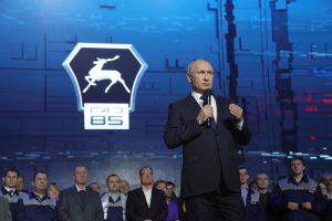 V. Putinas: rusų sportininkai galės varžytis olimpiadoje po neutralia vėliava