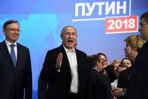 Rusijos prezidento rinkimai: V. Putinas užsitikrino ketvirtąją kadenciją
