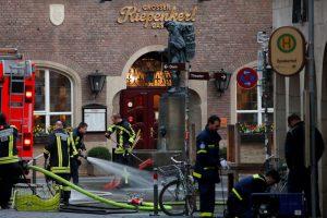 Vokietijos policija aiškinasi išpuolio Miunsteryje vykdytojo praeitį
