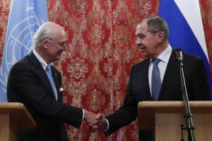 S. de Mistura: dabartinis prioritetas Sirijoje – sumažinti įtampą