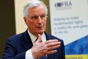 "M. Barnier sutiktų neilgam pratęsti ""Brexit"" derybas"