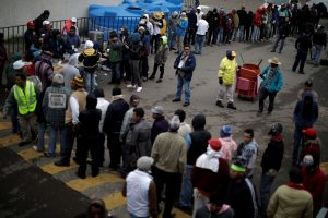 Prie JAV sienos jau atvyko daugiau kaip 1,5 tūkst. migrantų karavano narių