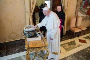 Popiežius pirmą kartą susitiko su Mormonų Bažnyčios vadovybe