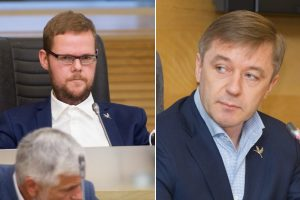LVŽS lyderis: J. Džiugelio pašalinimas iš frakcijos bus svarstomas rugsėjo 10 dieną