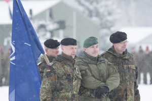 Rukloje paminėtos antrosios NATO priešakinių pajėgų bataliono metinės