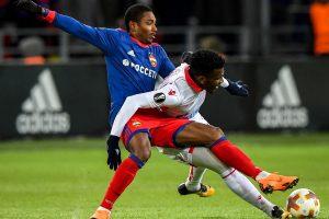 CSKA futbolininkai pateko į Europos lygos aštuntfinalį