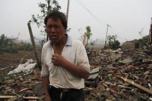 Per audras ir liūtis rytinėje Kinijoje žuvo 51 žmogus