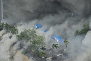 Filipinuose per gaisrą viešbutyje žuvo keturi žmonės