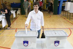 Slovėnijos centro kairiųjų partijos bando suformuoti mažumos vyriausybę