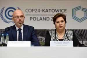 Pasaulio lyderiai grįžta į Lenkiją derybų dėl klimato paskutinio etapo