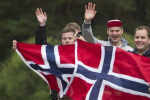 Laimingiausia pasaulio šalis Norvegija svarsto kurso keitimą