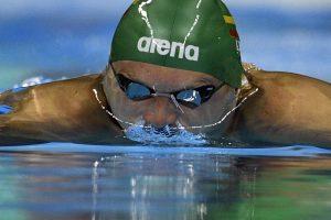 Plaukikai G. Titenis ir A. Šidlauskas nepateko į Europos čempionato pusfinalį