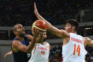 Ispanijos krepšininkai trečią kartą iš eilės pateko į olimpinių žaidynių pusfinalį
