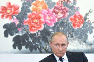 """V. Putinas: Rusijos ir JAV požiūriuose į padėtį Sirijoje esama """"suartėjimo"""""""