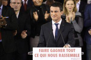 Prancūzijos premjeras M. Vallsas sieks prezidento posto