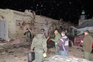 Damaske per mirtininko sprogdintojo ataką žuvo mažiausiai 8 žmonės