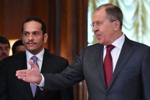 S. Lavrovas: Rusija deda pastangas išspręsti Kataro krizę
