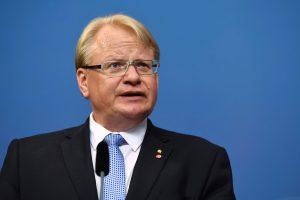 """Švedija planuoja pasirašyti sutartį dėl JAV raketų sistemų """"Patriot"""" pirkimo"""