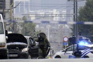 Briuselyje sulaikyto vyro automobilyje sprogmenų nerasta