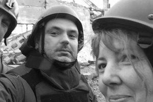 E. Špokas apie žurnalisto darbą pavojingose vietose: kare taisyklių nėra