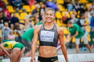 Bėgikė E. Balčiūnaitė Europos čempionate užėmė 15-ąją vietą