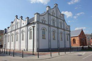 Šeštadienį Joniškyje atidaroma Baltoji sinagoga