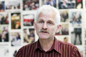 Lietuvos užsienio reikalų ministras sveikina A. Beliackio paleidimą