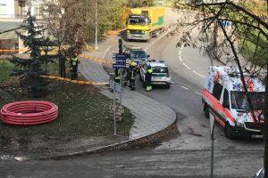 Vilniuje rasta karo laikų mina