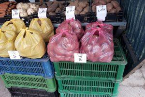 Kauno turguose bulvių kaina kyla kaip ant mielių