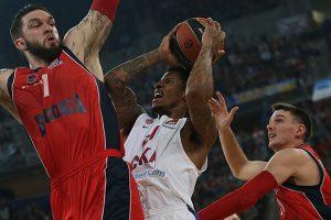CSKA krepšininkai Eurolygoje iškovojo 12-ąją pergalę