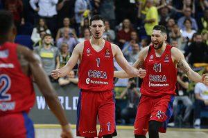 """CSKA krepšininkai įveikė """"Real"""" komandą"""
