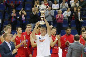 CSKA krepšininkai iškovojo VTB lygos čempionų titulą
