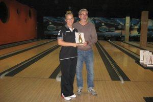 Kelialapius į boulingo turnyrą Šanchajuje iškovojo D. Perminienė ir L. Sasnauskas