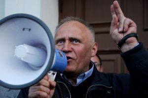 Baltarusijos opozicijos lyderis M. Statkevičius ruošiasi surengti protesto akciją